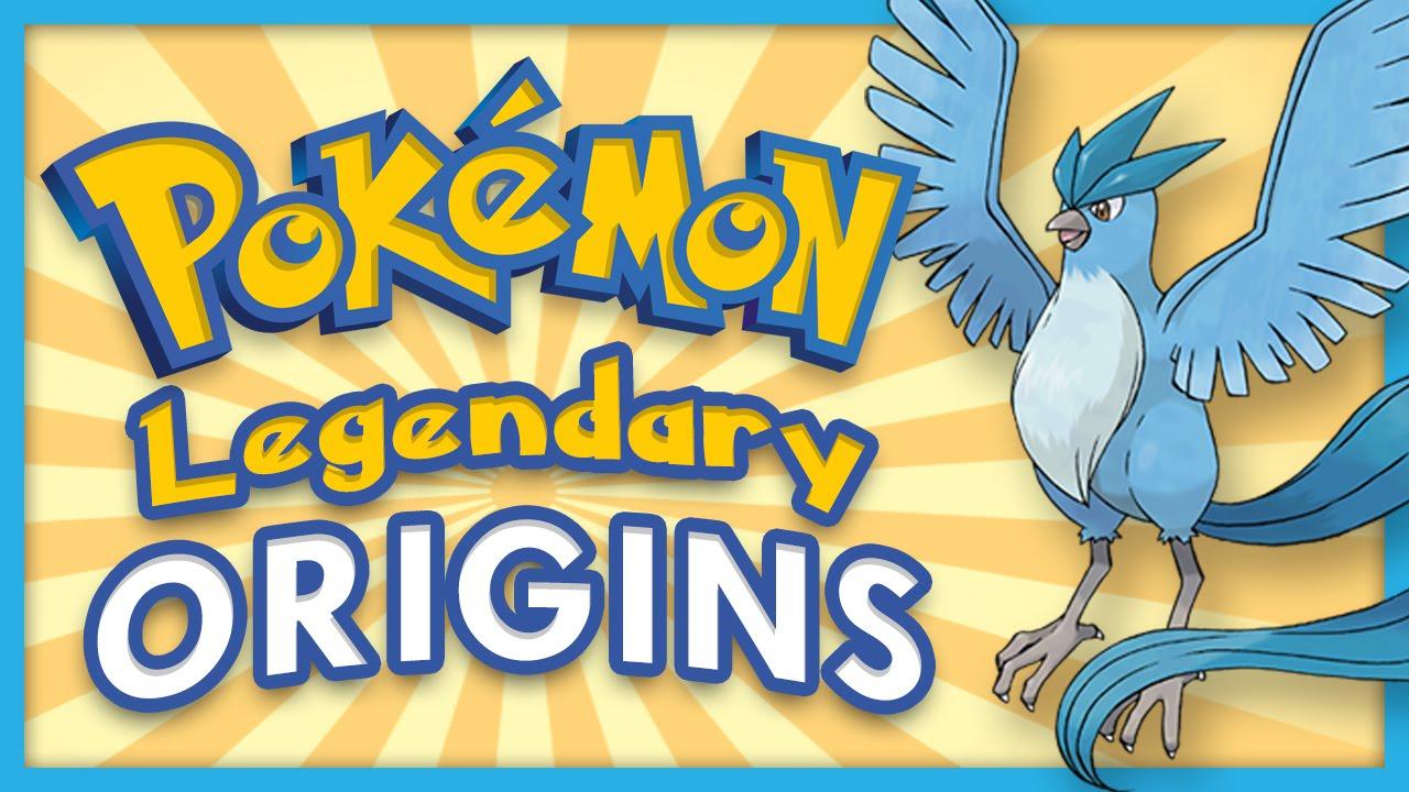 legendary pokemon origins youtube