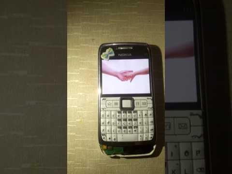 Nokia E71 Format Atma