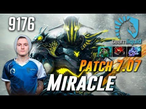 Miracle Sven Knight - Liquid vs Vici - Dota 2 Patch 7.07
