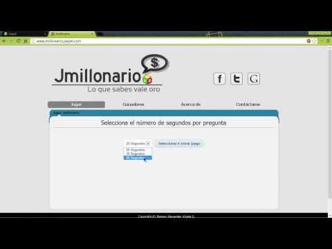 Presentación de Jmillonario