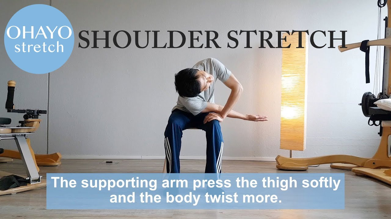 "Ohayo 1min stretching ""Shoulder blade"""