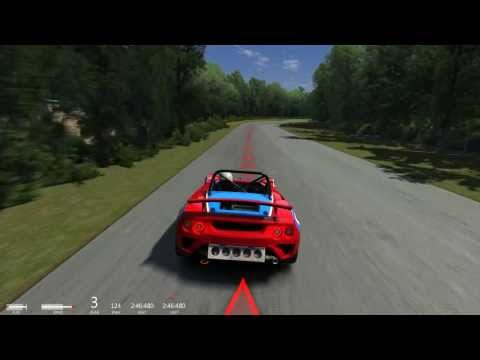 Assetto Corsa - Lotus 2 Eleven - 2 Laps - Driver Seat & Outside Cameras
