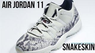 """6b0006835b1 The Air Jordan 11 Low """"Snakeskin"""" Release Date June 1"""