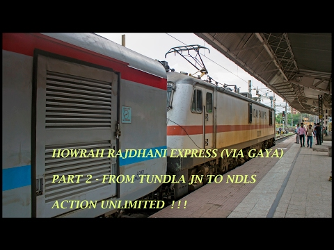 Ripper Howrah Rajdhani express (via GAYA) Journey 2 : Indian Railways !