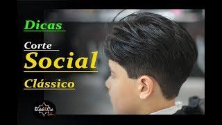 Dicas para Corte Social Clássico Infantil (#barbeirosbrasil)Passo a passo para Barbeiro iniciantes