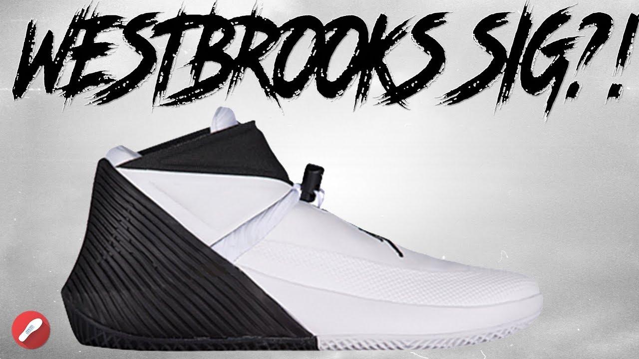 2f7da25d58ebec Jordan Westbrook 0! Russell Westbrooks Signature Shoe ! - YouTube