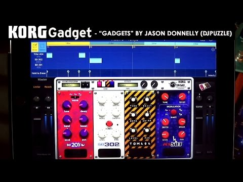 """Gadgets"" a song made with Korg Gadget in Hollywood's APM music library for TV!"