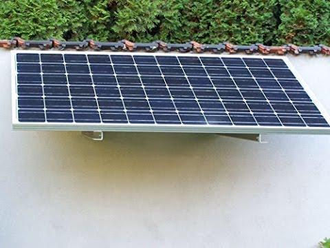 photovoltaik selber bauen kleine photovoltaikanlage selber bauen usv selber bauen youtube. Black Bedroom Furniture Sets. Home Design Ideas