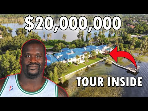 Take a Look Inside SHAQUILLE O'NEAL'S Florida MEGA MANSION | For Sale