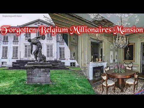 Found An UNTOUCHED Millionaires Mansion In Belgium   Everything Left Behind