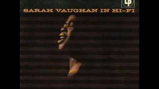 Sarah Vaughan - East of the Sun (and West of the Moon)  1955