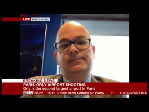 Attack on Orly Airport BBC News 18 Mar 2017
