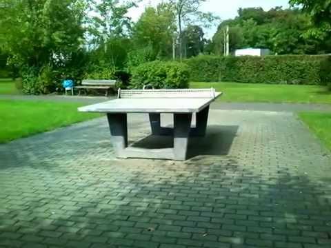 Tischtennisplatte Johannes Weyrauch Platz 04178 Leipzig Youtube