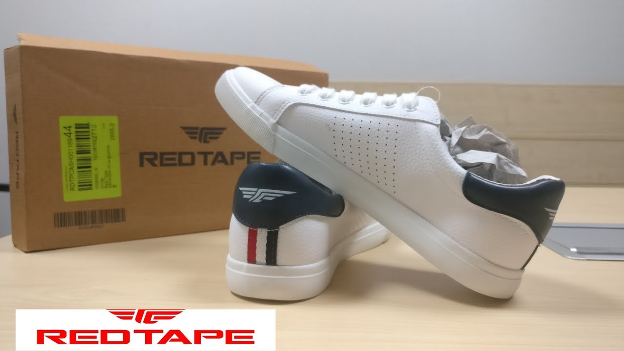White Sneakers | Red Tape | Casual