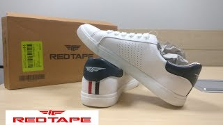 red tape sneakers