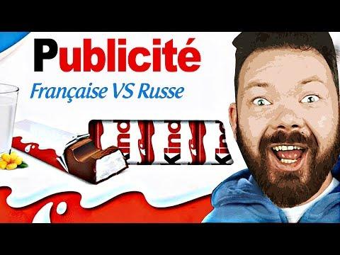 PUB FRANÇAISE VS RUSSE - Daniil le Russe