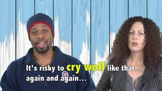 English in a Minute: Cry Wolf