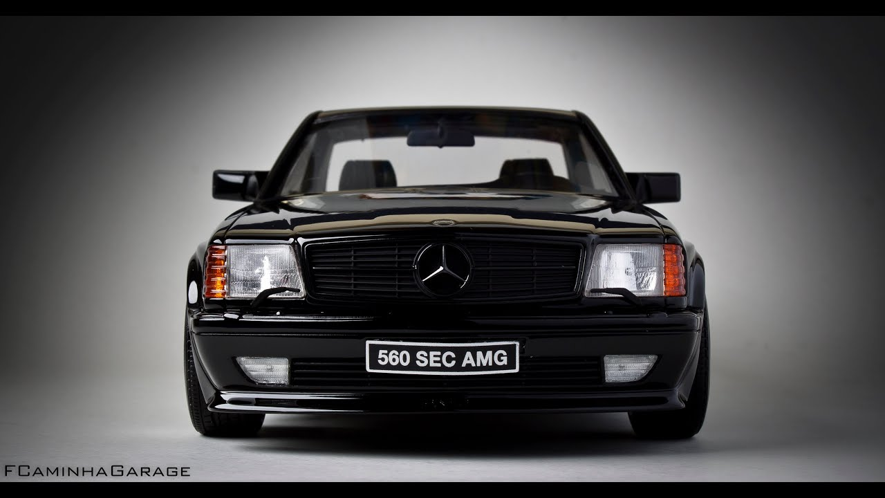 Free Car History Report >> Mercedes Benz 560 SEC AMG 6.0 Widebody - FCaminhaGarage 1 ...