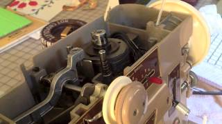 BasicOilingSinger401 Sewing Machine-Part 1