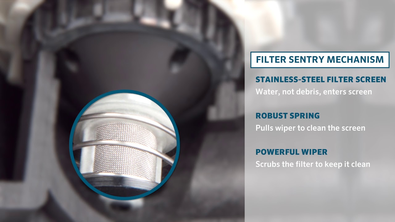 Hunter Icv Valve With Filter Sentry Technology Youtube