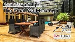 Home Closing Tips & Advice for Home Buyers (FINAL WALKTHROUGH) Gitta Sells - Lake Mary, FL 32746