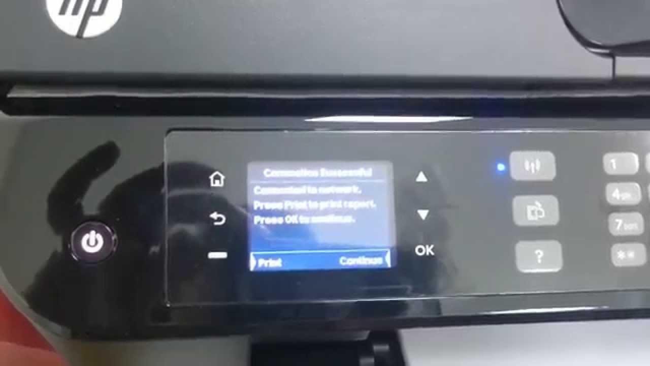 Hp Officejet 4630 Wireless Setup Youtube