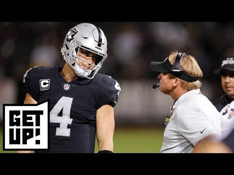 Derek Carr could be Giants QB in 2019 - Louis Riddick | Get Up!