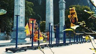 Phóng sự  -  Múa Lân ngày Tết   Tuyệt kỹ Mai Hoa Thung