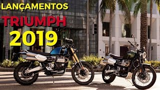 LANÇAMENTOS TRIUMPH 2019 | NEW SCRAMBLER | TIGER 800 | TIGER 1200 | SPEED TRIPLE 1050 RS
