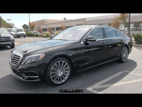2014 Mercedes-Benz S550 Start Up, Exhaust, and In Depth Review