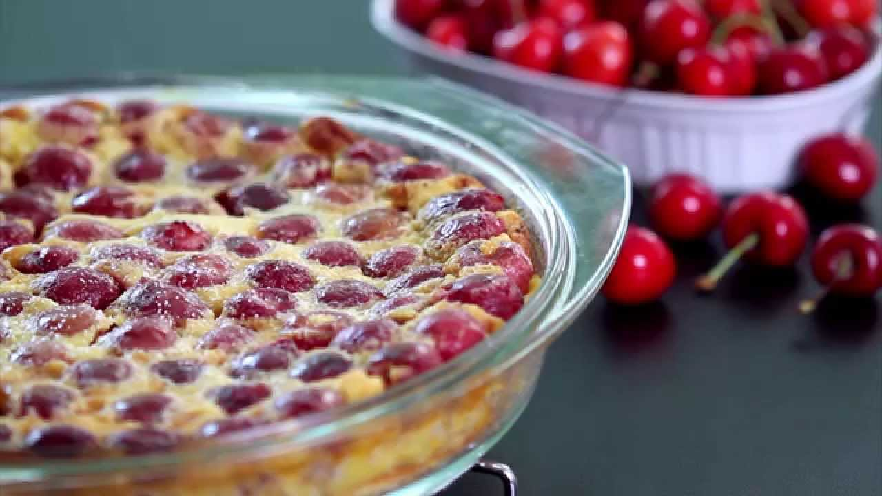 Cherry Clafoutis Recipe - YouTube