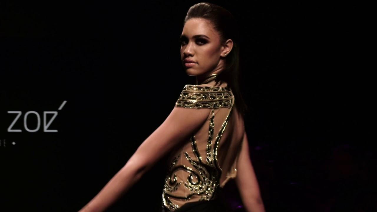 [VIDEO] - Fashion Designer Charbel Zoe   LA Fashion Week   Spring Summer Collection 2020 2
