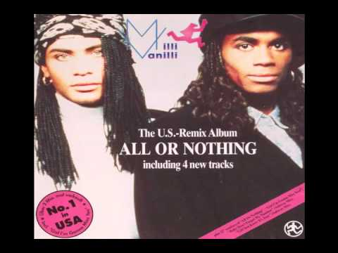 Milli Vanilli - Blame It On The Rain (All Or Nothing-The U.S. Remix Album music