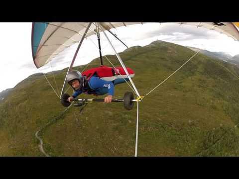 First hangglider flight in 15 years..