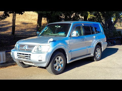 2005-mitsubishi-pajero-(tonga-import)-japan-auction-purchase-review