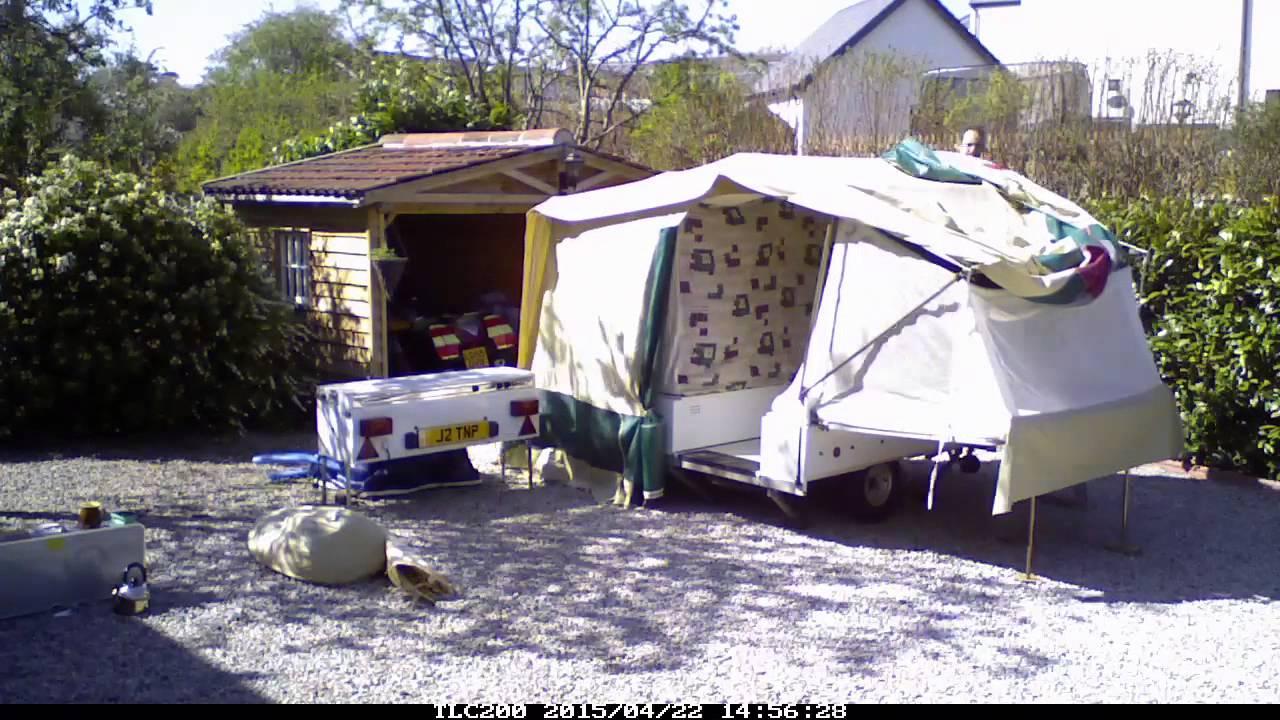 2009 Jamet camping trailer tent (Texas Luxe) - 1 minute ...