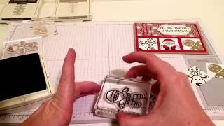 Stampin Up Cookie Cutter Christmas Card Tutorial
