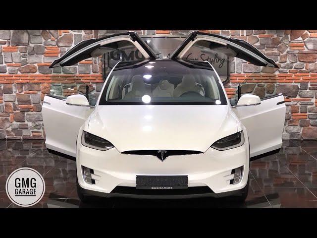 DANS EDEN SUV !!! Tesla Model X P100D / Mercedes GLE 63 BRABUS - GMG GARAGE