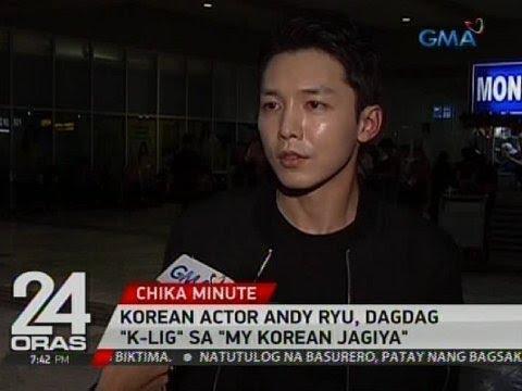 "24 Oras: Korean actor Andy Ryu, dagdag ""k-lig"" sa ""My Korean Jagiya"""