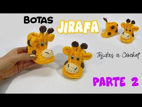 Amigurumi Crochet Pattern - Stanley the Giraffe | Jirafa amigurumi ... | 360x480
