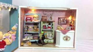 "Diy Wooden Miniature Of  Teddy Bear  Shop -  ""the Bear Story"" At Www.laminiworld.com"