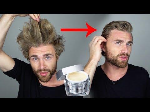 Haarstyling TUTORIAL für Männer mit LUXUSHAARWACHS
