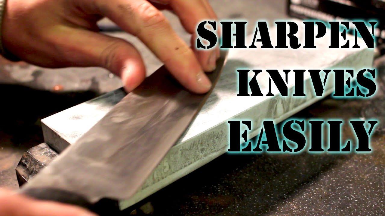 How to Sharpen a Knife to Razor Sharp Using Whetstones