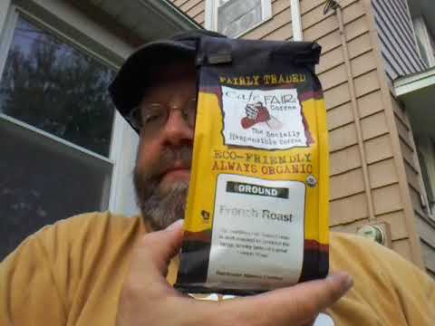 Cafe Fair French Roast coffee review