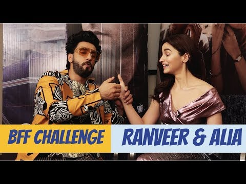 Ranveer Singh And Alia Bhatt Take The BFF Challenge | Gully Boy | POP Diaries Exclusive Mp3