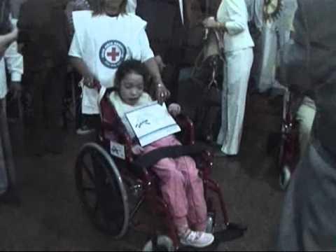 Michael Mattie Argentina Wheelchair distribution