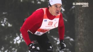 El ecuatoriano Klaus Jungbluth le apuesta al esquí
