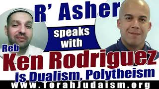 R' Asher speaks with Ken Rodriguez