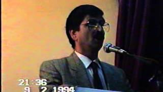 Mustafa DİŞLİ 'yi anma gecesi (ŞURKAV 1994 2 B )