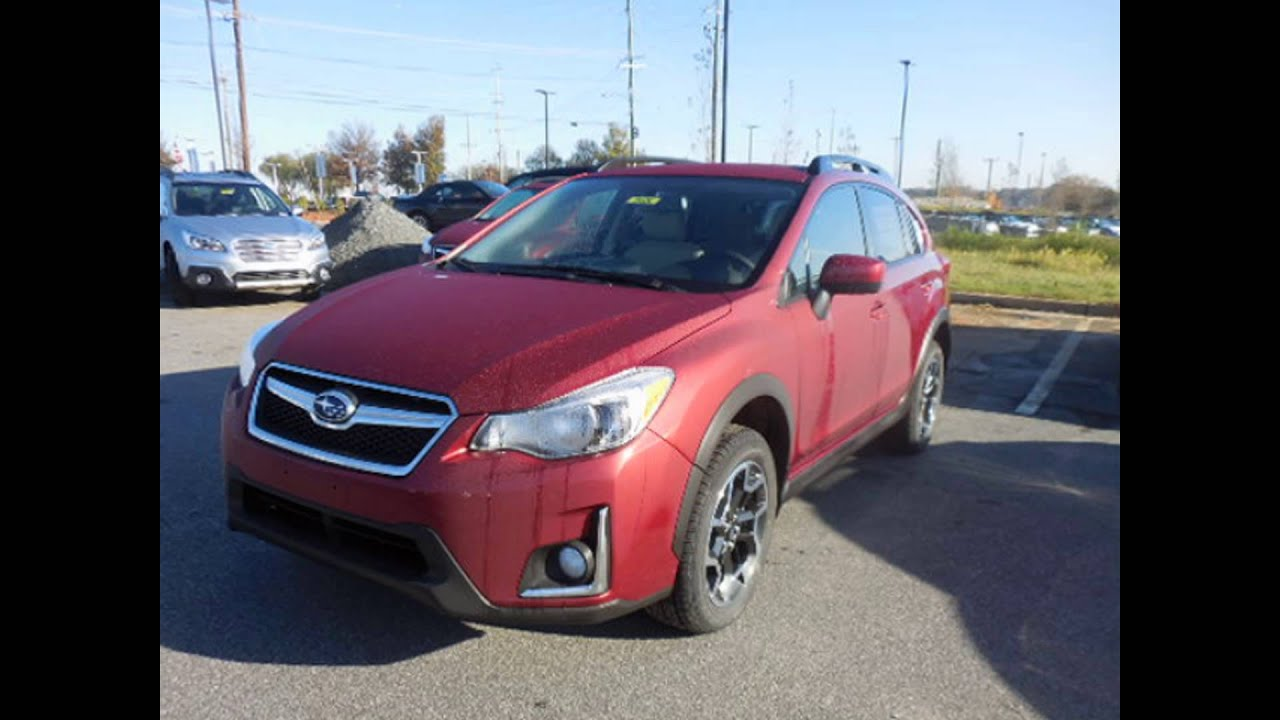 2016 subaru crosstrek hybrid venetian red pearl youtube. Black Bedroom Furniture Sets. Home Design Ideas